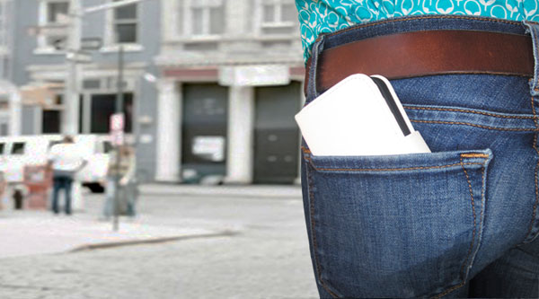 Perhaps someday the only thing people will take shopping is their iPhone - but probably not.