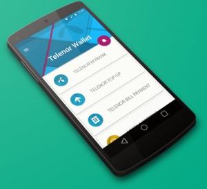 Telenor MyWallet on Nexus 5