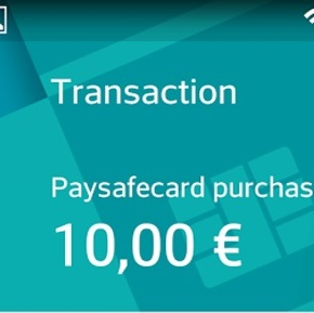 paysafecard goes mobile