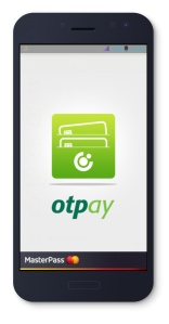 OTPay with MasterPass - splash screen