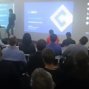 Cellum presents at London Fintech Startup series