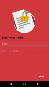 The mPIN serves as a digital signature and is used to authorize individual transactions, making sure that no payments are made without the authorized user's approval.