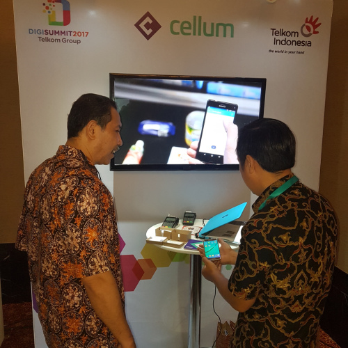 Digi Summit 2017 Cellum booth