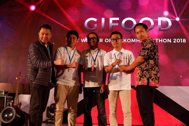 2018 Telkom Hackathon winner Gifood