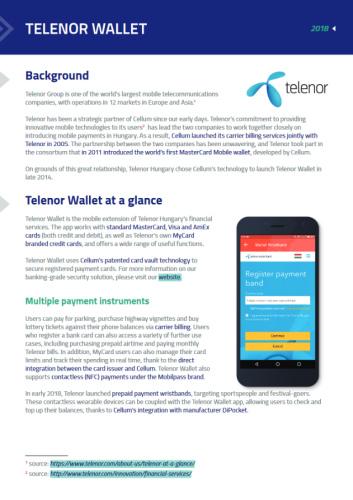 Telenor Wallet case study thumbnail