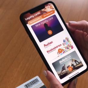How to store loyalty cards via Erste Mobilepayapp