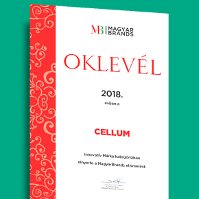 Cellum is named amongst the best-knownbrands